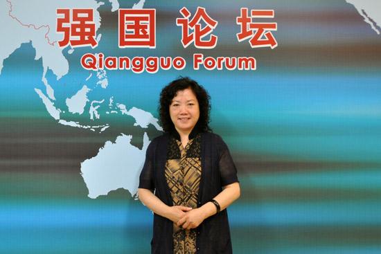 中国儿童中心主任丛中笑